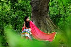 Portrait shoot .. !! (Jams Nabil) Tags: green nature colors girl beautiful fashion portraits canon photography outdoor photographers bangladesh