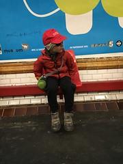 Danilo, arriva il treno vacca boia (Danilo Marrani) Tags: baby little sweet budu bambino neonato beb draem
