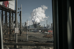 (onesevenone) Tags: urban cloud cold america industrial unitedstates steam gothamist eastcoast windowseat stefangeorgi onesevenone