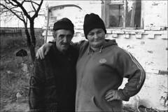 The family of the Georgian immigrants living subsidiary farm in the Don steppe (misha maslennikov) Tags: bw film nikon russia don f3 steep senshin maslennikov otherrussia