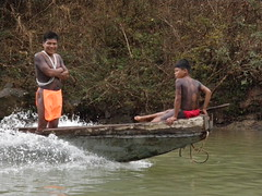 Embera Indians on Chagres River, Panama (Jake Laun) Tags: indians panama embera