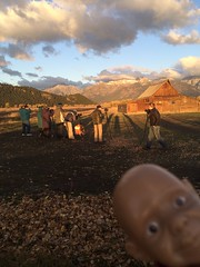 Hey guys, +1 off the sky, I mean duh (Cutie Patootie Patrol) Tags: mountains barn landscape rockies kid outdoor photographers cutie wyoming tetons molton photobomb