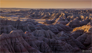 Early morning Badlands