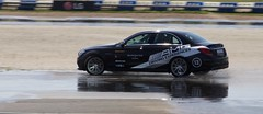 Wet weather driving (Bruce82) Tags: wet car canon mercedes driving mercedesbenz 13 31 116 amg brooklands cclass f4l 24105mm silverarrows c63 mercedesbenzworld amgc63 eos70d amgdrivingexperiences 116picturesin2016