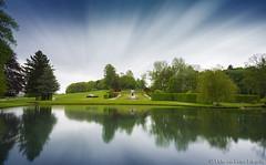 Gardens of Annevoie at daytime (PvRFotografie) Tags: park longexposure nature garden belgium ardennen ardennes belgi natuur nd 20mm tuin parc sony20mmf28 gardensofannevoie sonyslta99 bw110mrcfprondfilter