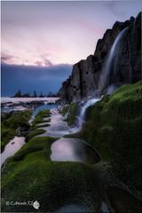 Gueirua (Caramad) Tags: longexposure sea seascape sunrise landscape mar agua rocks wave asturias amanecer rocas cascada marcantbrico gueirua