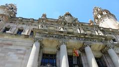 Main Post Office - Correo (Hear and Their) Tags: barcelona barceloneta