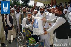 Islamic Relief's Ramadan distribution in Surkhrood Nengarhar, Afghanistan