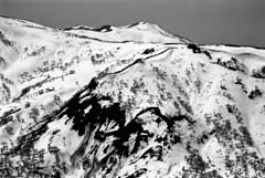Mt.Hamamasugoten from Mt.Nakanosawa (threepinner) Tags: ski japan spring hokkaido skiing pentax kodak sunny   hq 135mm microfilm hokkaidou mzm f35 ishikari northernjapan mashike smcpentax hamamasu imagelink   mountainsnaps   mthamamasugoten  analogmountainsnaps