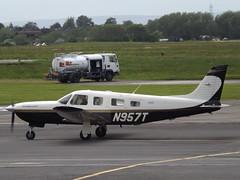 N957T Piper Saratoga 32 (Aircaft @ Gloucestershire Airport By James) Tags: james airport saratoga gloucestershire piper 32 lloyds egbj n957t