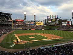 "New White Sox Scoreboard at US Cellular Field • <a style=""font-size:0.8em;"" href=""http://www.flickr.com/photos/109120354@N07/27157633361/"" target=""_blank"">View on Flickr</a>"