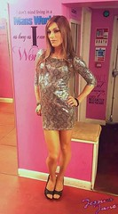 Lipsy Dress Jess (jessicajane9) Tags: tv cd tgirl transgender lgbt transvestite trans crossdresser tg m2f feminized