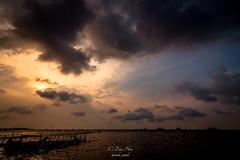 The Coming Storm (madi_patub) Tags: sunset jakarta landscapephotography marunda landscapeshot tokina1116 d7200 explorejakarta
