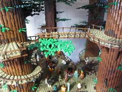Ewokdorf - Brcke 01 (KW_Vauban) Tags: starwars lego endor ewokvillage episodevi thereturnofthejedi