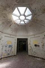(bryan.cr2) Tags: abandoned hospital village skylight childrens rotunda psychiatric