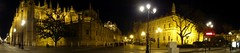2016 04 24 086 Cathedral and around, Seville (Mark Baker, photoboxgallery.com/markbaker) Tags: city urban panorama night photo spring sevilla spain europe european baker view cathedral outdoor mark union catedral eu panoramic seville andalucia photograph april 2016 picsmark