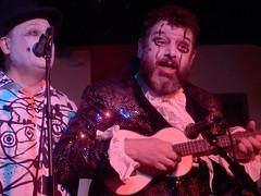 Sexy KC 27/06/16: Foster & Gilvan #2 (Diamond Geyser) Tags: show music clown onstage 100club princetribute karaokecircus fozfoster barongilvan fostergilvan fosterandgilvan sexykc