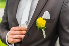 Hochzeitsfotografie - Bräutigamshoot von Anja & Sven