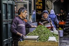 Arab Grocer (corey jackson) Tags: jerusalem israel souk market grocer middleeast travel