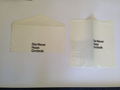 Die Neue Haas Grotesk (LikeMindedStudio.com Ephemera) Tags: typography helvetica typespecimen josefmullerbrockmann dieneuehaasgrotesk