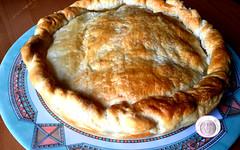 Ricetta torta salata con carciofi e provola (RicetteItalia) Tags: food cucina ricette