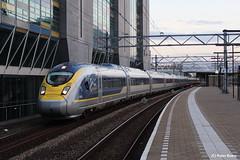 Eurostar Leiden 11-07-2016 (PeterBrabant) Tags: leiden eurostar