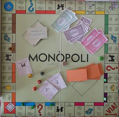 Monopoli table (sprinter77) Tags: originale gioco epoca luglio eg monopoli