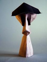 Sad (Rui.Roda) Tags: origami papiroflexia papierfalten triste sad human figure face rosto rostro visage