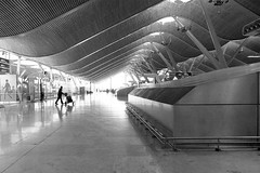 (_aLinG_) Tags: madrid film architecture airport bronica t4 barajas etrsi filmisnotdead zenzanon40mmf4 nyc150