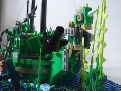 DSC05361 (sebeus) Tags: sea fish coral shark weed ship underwater lego wreck galleon