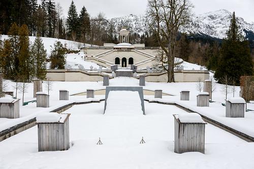 林德霍夫宮花園