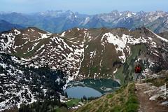 (welenna) Tags: summer mountain lake mountains landscape switzerland view berge stockhorn schwitzerland oberstockesee