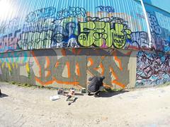 BURN (Rodosaw) Tags: chicago graffiti burn nmu