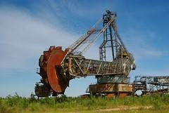 Retired (kecal_2) Tags: germany industrial pentax mining excavator bucketwheel bucketwheelexcavator k200d pentaxk200d