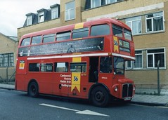 RM1666 (Sparegang) Tags: queenspark routemaster rm londontransport londoncentral rm1666 666dye rmclass kgj341a