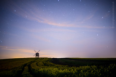 Turn no more (AndWhyNot) Tags: windmill night chesterton 5054