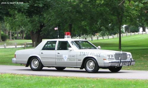 Rhode Island State Police 1979 Chrysler Newport Restored 2 A