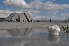 Armenian Genocide Memorial Complex (Alexanyan) Tags: sky flower monument memorial empire april 24 ottoman 1915 yerevan genocide complex turk armenian armenien armenie caucasia erevan hayasdan
