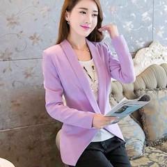 เสื้อสูท แฟชั่นเกาหลีผู้หญิงทำงานออฟฟิศแขนยาวสวยรุ่นใหม่สไตล์แบรนด์ นำเข้า - พร้อมส่งTJ7513 เรียบหรูสำหรับสาวทำงานออฟฟิสเทรนด์แฟชั่นเกาหลีรุ่นใหม่ จะใส่กับเสื้อเชิ้ตในวันทำงานหรือใส่แบบลำลองคู่กับเสื้อยืดกางเกงยีนส์ หรือใส่เป็นเสื้อคลุมก็ดูมีสไตล์น่ามอง L