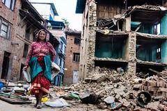 Nepal, Kathmandu valley after 25 th april earthquake (David Ducoin) Tags: nepal earthquake asia kathmandu np himalaya
