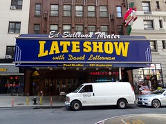 (maduarte) Tags: newyorkcity lateshowwithdavidletterman edsullivantheater