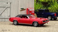1970 Plymouth Hemi 'Cuda Convertible (JCarnutz) Tags: plymouth 1970 hemi cuda diecast franklinmint 124scale