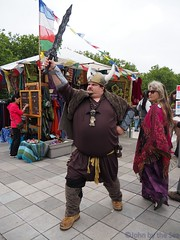 Viking (John by the Sea) Tags: seattle man male guy chubby viking folklifefestival