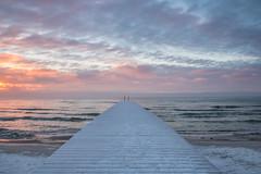 Dock at dawn (Infomastern) Tags: winter cold sunrise dawn vinter dock frost rime soluppgng brygga rimfrost kallt skateholm