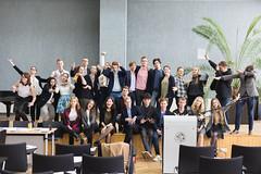IMG_5483 (Aneta Urbon) Tags: school people students high model european shot group parliament indoor indoors politicians inside lithuania lithuanian mep meplt mepsiauliai