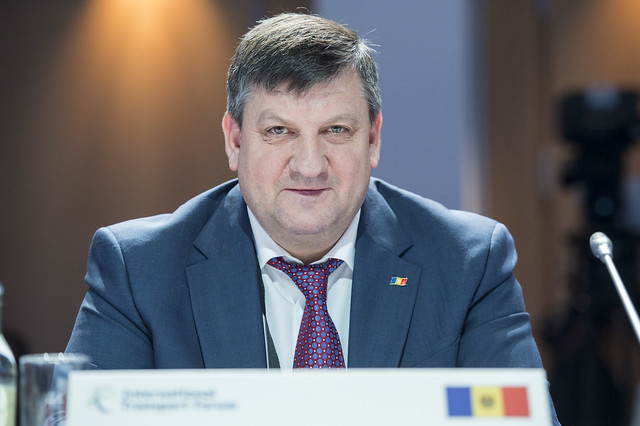 Iurie Chirinciuc at the Closed Ministerial Session