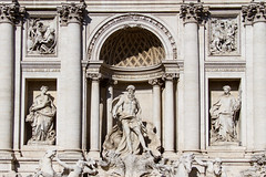 Trevi Fountain - Rome, Italy (Melanie Alexandra Photography) Tags: italy sculpture rome roma wanderlust trevifountain travelphotography