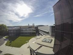 Aerial images of Binghamton University (BinghamtonUniversity) Tags: usa ny vestal aerials 2015 buildingsandfacilites innovativetechnologiescomplex engineeringandsciencebuilding
