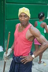 Barrendero musculoso (Jean Ka) Tags: portrait retrato havana cuba porträt habana kuba streetsweeper barrendero strasenkehrer balayeurderue barredordecalles