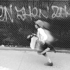 Barry (ShelSerkin) Tags: street nyc newyorkcity portrait blackandwhite newyork candid streetphotography squareformat gothamist iphone mobilephotography iphoneography shotoniphone hipstamatic shotoniphone6